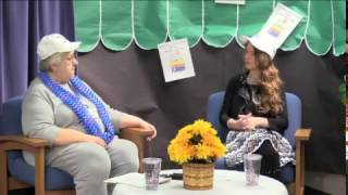 Literacy Week Interview at Woodlawn Beach Middle School