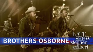 Brothers Osborne Perform 39 Shoot Me Straight 39