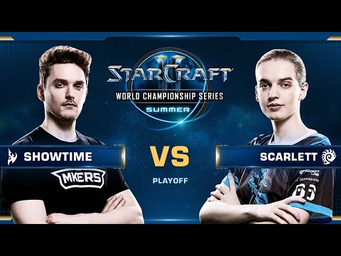 ShoWTimE vs Scarlett PvZ - Ro16 - WCS Summer 2019