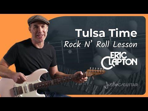 Eric Clapton Tulsa Time Guitar Lesson Justin Guitar Tutorial