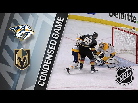 01/02/18 Condensed Game: Predators @ Golden Knights