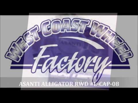 ASANTI WHEEL CENTER CAPS @ WEST COAST WHEEL FACTORY BEST PRICES ON REPLACEMENT CENTER COVERS