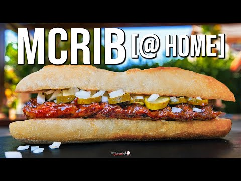 The Best Real McRib You'll Ever Have | SAM THE COOKING GUY 4K