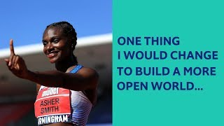 Dina Asher Smith answers The Economist's #OpenFuture question