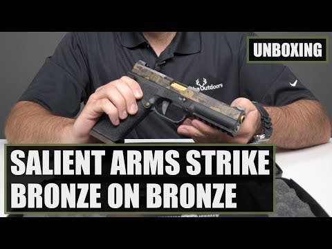 Unboxing the Salient Arms STRIKE Tier One BoB 9mm Pistol