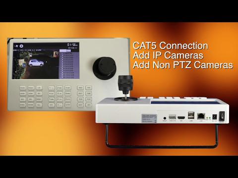 PTZ Control Joystick for IP CCTV Cameras
