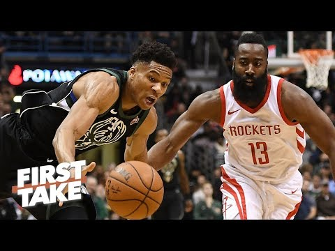 James Harden is more valuable than Giannis in the NBA playoffs - Stephen A. | First Take thumbnail