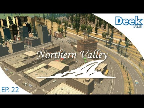 Let's Design Northern Valley Ep.22 - Expanding & Detailing Manor Heights - Cities Skylines