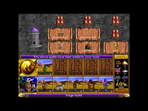 Heroes Of Might And Magic (DOS) - #21 - Castle Ironfist parte 5