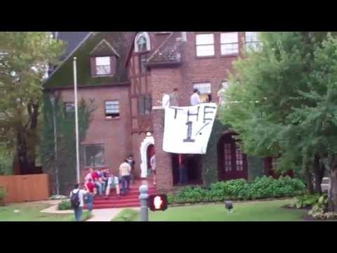 Kappa Sigma(ΚΣ) house drops 1% sign on #OccupyFayetteville protest...