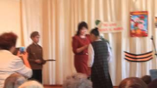 Вручение медаль моей маме 2015