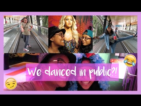 WE DANCED IN PUBLIC?! VLOG #11 | FADILLA ABD