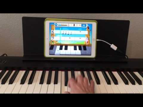 Two fun iPad apps for piano lessons