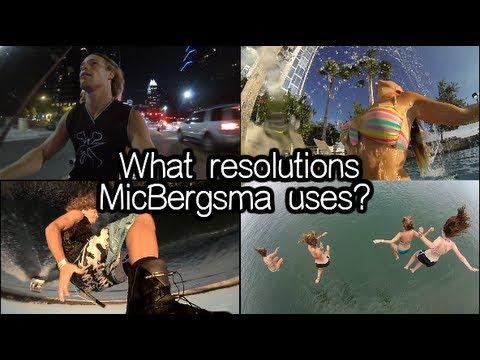 What Resolutions Micbergsma Uses Hero2 Hero3