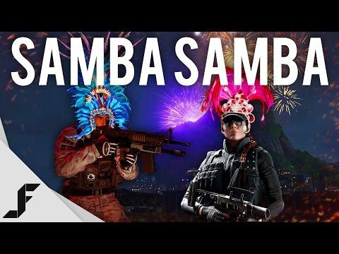SAMBA SAMBA - Rainbow Six Siege - Skull Rain DLC