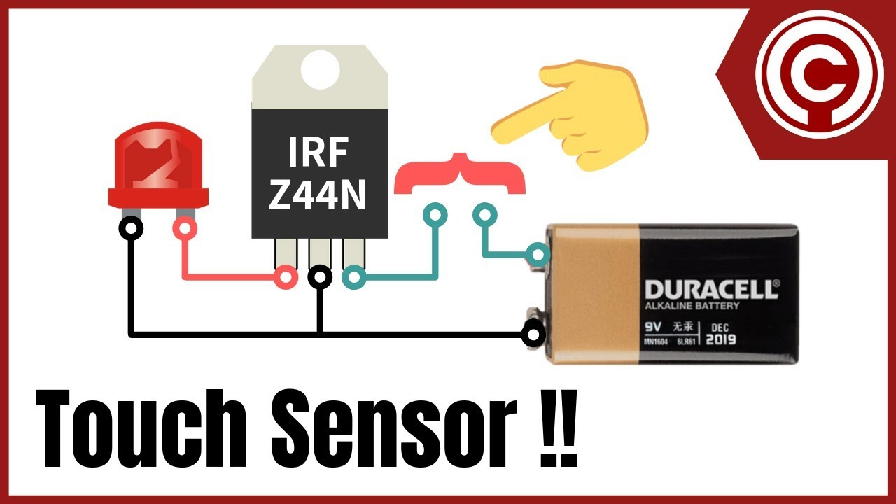Simple Touch Sensor Youtube