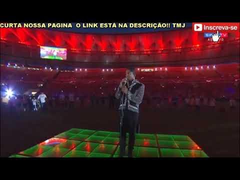 "Jermaine Jackson performance at ""Jogo das Estrelas"" at Maracanã stadium"