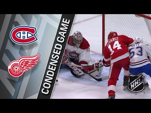 11/30/17 Condensed Game: Canadiens @ Red Wings