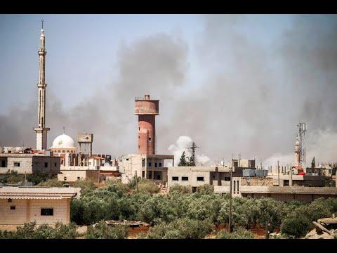 نزوح آلاف المدنيين هرباً من قصف النظام على درعا  - نشر قبل 2 ساعة