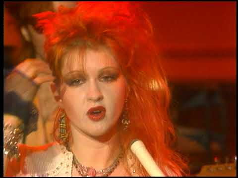 American Bandstand 1984- Interview Cyndi Lauper