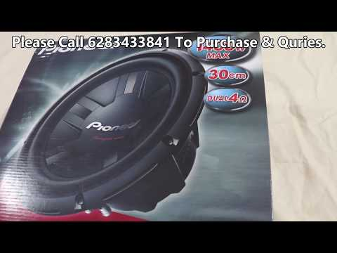 Pioneer Champion TS-W1211D4 Subwoofer Unboxing Review Video
