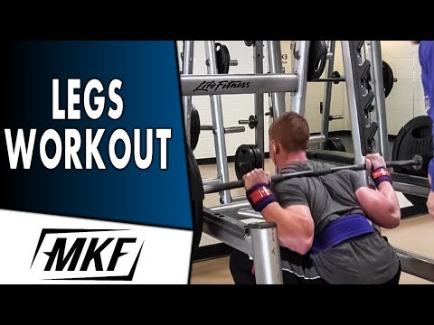 Leg Workout – Building Big Legs Individually