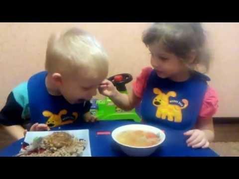 Суп с фрикадельками ребенку