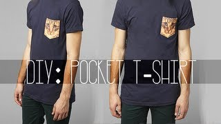 Diy: Pocket Tee-shirt