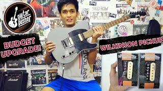 🔥Budget Guitar Pickup Upgrade!🔥(Wilkinson M-Series Demo)