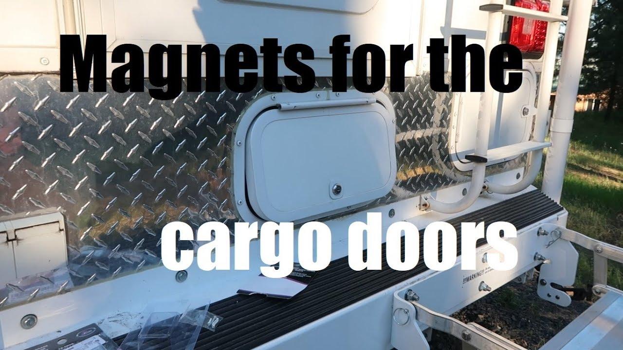 Cargo Door Magnets for my Truck Camper