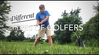 Different types of golfers!