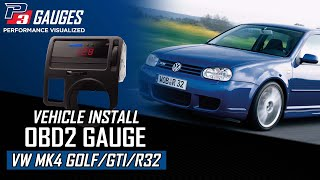 P3 Cars - VW Mk4 Install Guide - Digital Interface