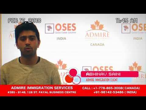 Admire Immigration Services Inc. Surrey BC