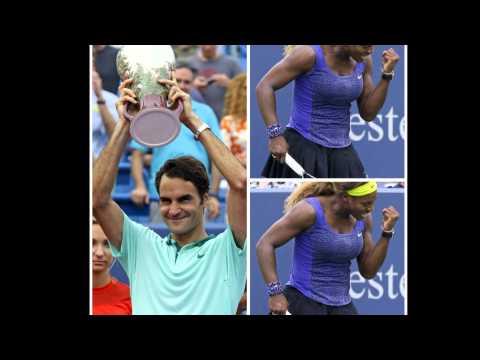 Federer, Serena Williams win at Cincinnati