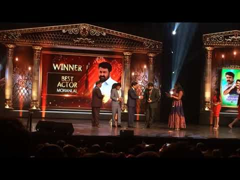 3rd Anand TV Film Awards Mohanlal 2018