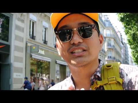 Nike and Adidas FLAGSHIP in Champs-Élysées Paris SOUVENIR HUNT!