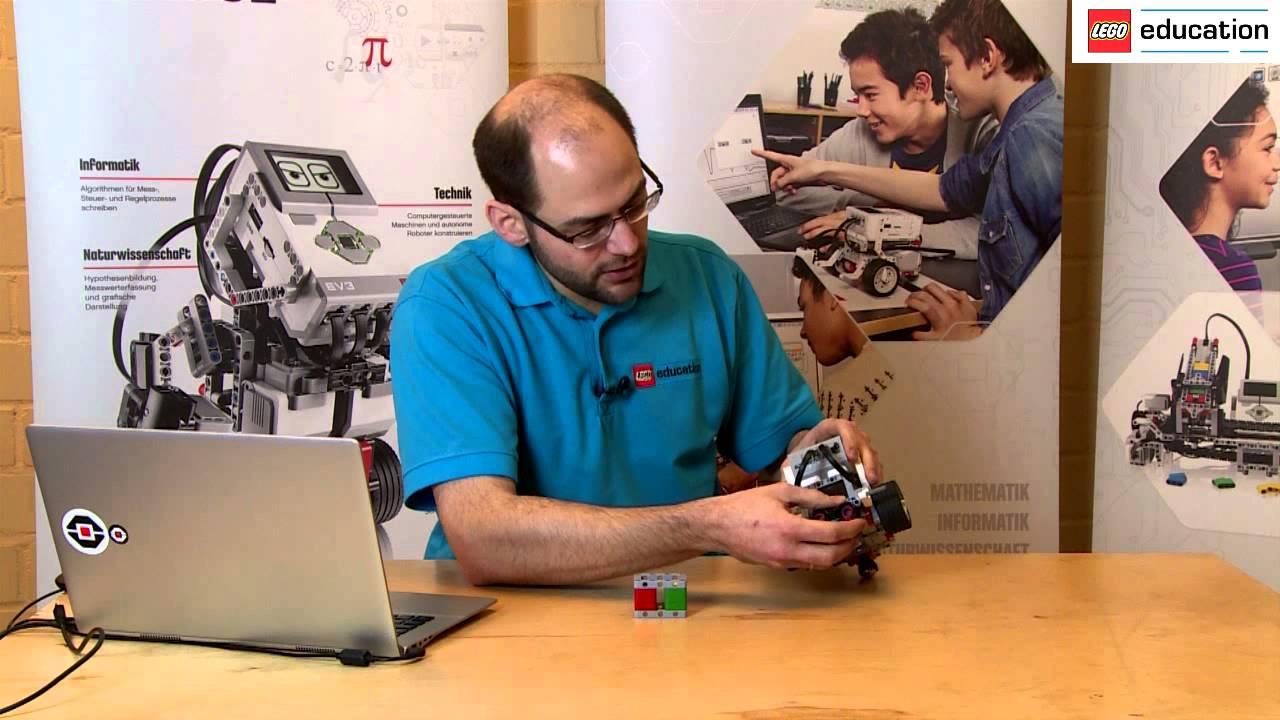 Lego Mindstorms Education 02 An Einem Objekt Stoppen Youtube