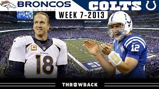 Peyton Manning's RETURN to Indy! (Broncos vs. Colts 2013, Week 7)