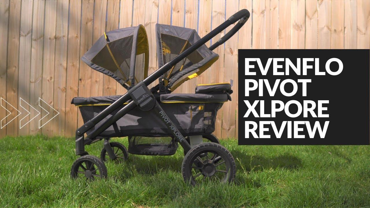 Evenflo Pivot Xplore Stroller Wagon Review - YouTube