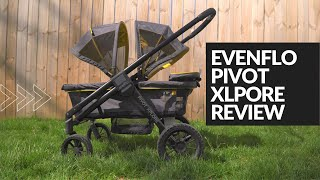 Evenflo Pivot Xplore Stroller Wagon - Jeff the Baby Dude ...