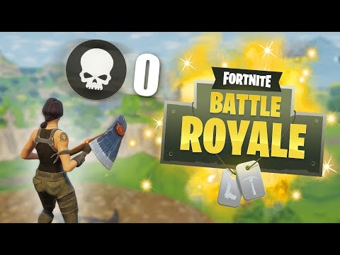 WINNING A GAME WITHOUT FIRING A SINGLE SHOT CHALLENGE! | Fortnite Battle Royale Funny Moments