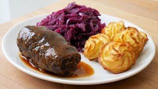 Rouladen Selber Machen (Rezept)  German Beef Roulades (Recipe)