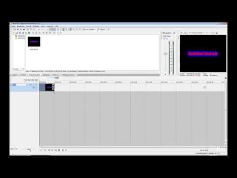 SonyVegas Text animieren und hervorheben