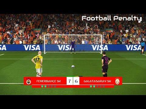 Fenerbahce vs Galatasaray | Penalty Shootout | PES 2018 Gameplay PC