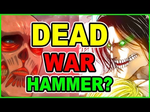 WarHammer Titan DIES? New Armor Titan & Colossal Titan Surprise!Attack on Titan Chapter 104