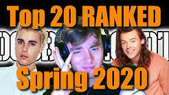 Spring 2020 Billboard Top 20 Ranked: Worst to Best