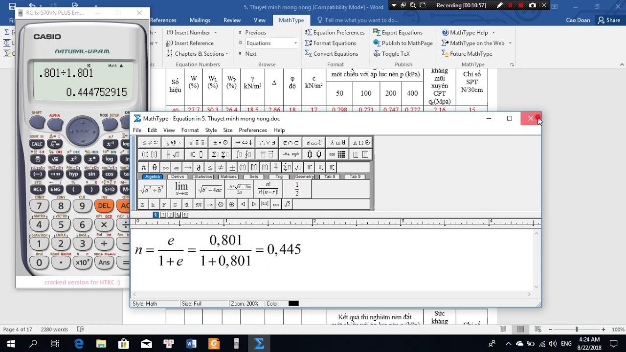 Vedio 1: Hướng dẫn xử lý số liệu địa chất đồ án Nền móng Hệ XDDD #1