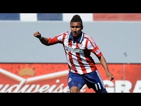 GOAL: Juan Agudelo cuts back and scores for Chivas USA | Chivas USA vs FC Dallas