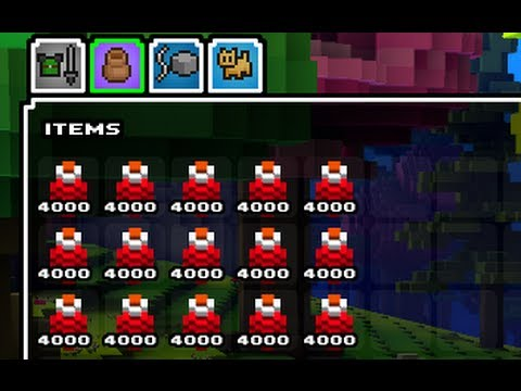cube world item ids