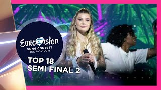 Eurovision 2019 🇮🇱 | MY TOP 18 SEMI-FINAL 2 | 2nd Rehearsal